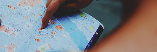 5 Tips for Choosing A Good Restaurant paper map - 5 Tips for Choosing A Good Restaurant