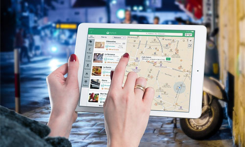 6 Things You Can Do When Bistros Have Free Wi Fi tablet map - 6 Things You Can Do When Bistros Have Free Wi-Fi